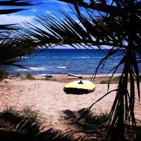 Photo taken at Tony Frey Windsurfing Club by Dimitra K. on 5/3/2014