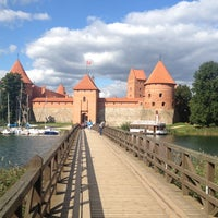 Снимок сделан в Тракайский замок пользователем Stefan V. 8/28/2012