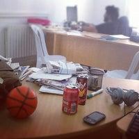 Photo taken at معهد صحافة الحرب والسلم by Sofiane C. on 8/29/2012