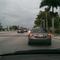 Photo taken at Hallandale Beach Blvd and the Rail Road Tracks by Bennett G. on 6/20/2012