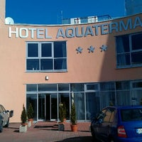 Photo taken at Hotel Aquatermal by Jozef K. on 3/3/2012