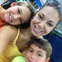 Photo taken at Rebounderz Indoor Trampoline Park by N H B. on 8/6/2014