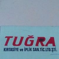 Photo taken at Tuğra Kırtasiye by Çiğdem Y. on 6/13/2014