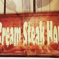 Photo taken at Cream Steak House by Magnolia D. on 3/23/2015