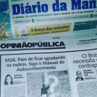 Photo taken at Diário da Manhã by Adriana M. on 4/24/2017