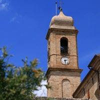 Photo taken at Belmonte Piceno by Marca F. on 11/27/2014