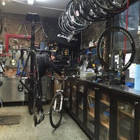 Photo taken at NYC Velo by Eric L. on 2/20/2016