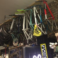 Photo taken at NYC Velo by Eric L. on 6/23/2013