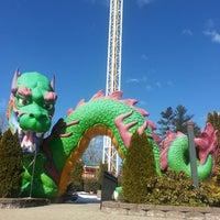 Photo taken at Funtown Splashtown USA by Willie E. on 3/26/2013
