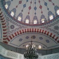Photo taken at Mortaş Mehmet Ali Tombul Cami by Rukiye K. on 8/19/2015