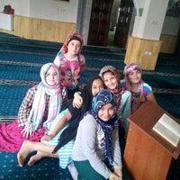 Photo taken at Mortaş Mehmet Ali Tombul Cami by Rukiye K. on 8/13/2015
