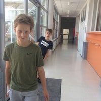 Photo taken at Vrije Basisschool Langemark by Laure D. on 7/7/2017