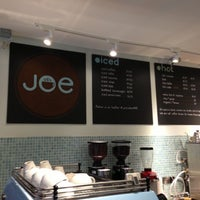 Photo taken at Joe the Art of Coffee by EsBee C. on 10/12/2012