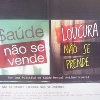 Photo taken at Projeto Tear oficinas de trabalho, terapia e arte by Natália T. on 5/13/2014