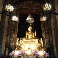 Photo taken at Wat Bowon Niwet by Kannika V. on 4/28/2013