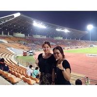 Photo taken at สนามกีฬาเฉลิมพระเกียรติ 80 พรรษา นครราชสีมา by Sophia L S. on 2/15/2014