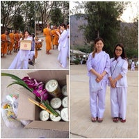 Photo taken at วัดเขาสมโภชน์ by Sophia L S. on 2/15/2014