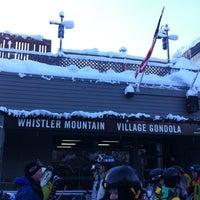 Photo taken at Whistler Village Gondola by Junewoo P. on 12/24/2012