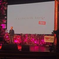 Photo taken at TEDxDanubia@Uránia by Ivett M. on 5/21/2015