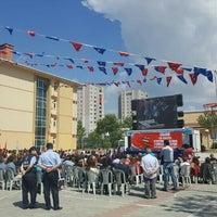 Photo taken at Gazi Anadolu Lisesi by Ahmet G. on 5/19/2016