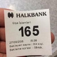 Photo taken at Halkbank by Arda A. on 9/27/2016