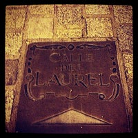 Photo taken at Calle Laurel by Alba R. on 11/2/2012