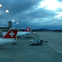 """Photo taken at VBG Zürich Flughafen by Michael """"meikk"""" W. on 4/10/2013"""