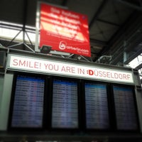 Photo taken at Dusseldorf Airport (DUS) by Hendrik L. on 9/26/2013