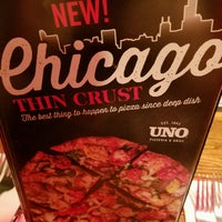 Photo taken at Uno Pizzeria & Grill - Southport by Emily F. on 1/7/2017