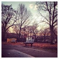 Photo taken at Herbert Von King Park by Bahar E. on 12/3/2012