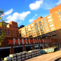 Photo taken at Ponce City Market by Matt N. on 8/12/2014