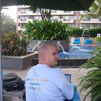 Photo taken at Pool @ ITC Royal Gardenia by Georgi K. on 12/6/2012