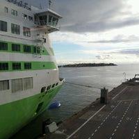 Photo taken at Tallink M/S Star by Rodrigo R. on 10/12/2012