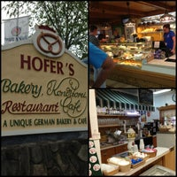 Photo taken at Hofers Bakery by Ryan K. on 5/19/2013