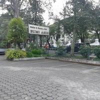 Photo taken at Hotel Bumi Asih by Syarif A. on 5/3/2014