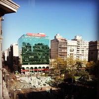 Photo taken at Plaza Fabini by Germán B. on 9/26/2013