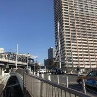 Photo taken at 浜路橋 by Hiroshi K. on 3/10/2017