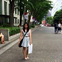 Photo taken at 上智大学 メインストリート by Toshimi I. on 6/30/2014