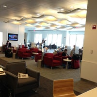Photo taken at Delta Sky Club by Gregory C. on 5/17/2013