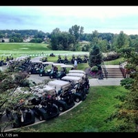 Photo taken at Glenmoor Country Club by Cliff F. on 9/9/2013