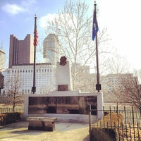 Photo taken at Columbus Police Memorial by Cliff F. on 3/9/2014