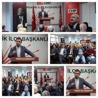 Photo taken at Chp Pendik İlçe Başkanlığı by Serkan U. on 1/10/2016