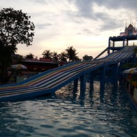 Photo taken at Kaimook Waterpark by Bambi on 12/6/2014