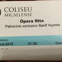 Photo taken at Teatro Micaelense - Centro Cultural e de Congressos by Ricardo B. on 10/10/2015
