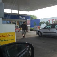 Photo taken at Shell by Madaras Z. on 7/31/2014