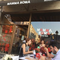 Photo taken at Mamma Roma by Yeliz G. on 7/5/2017