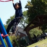 Photo taken at Lipscomb Elementary School by Lia U. on 10/10/2013