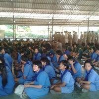 Photo taken at ค่ายนวภพ by Nuwaew L. on 12/19/2012