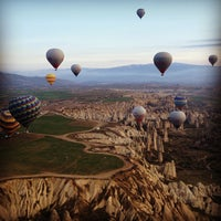 Photo taken at Cappadocia by Ming Min H. on 3/29/2013