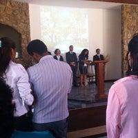 Photo taken at Igreja Adventista do Sétimo Dia by Vick V. on 6/7/2014